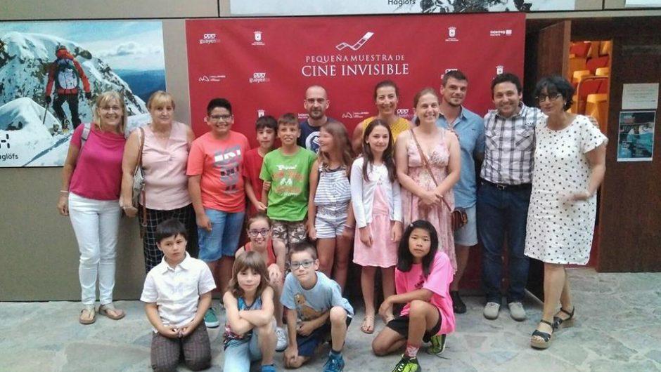 Exito en la XI edición de la Pequeña muestra de Cine Invisible.